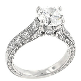 Platinum Diamond Ring